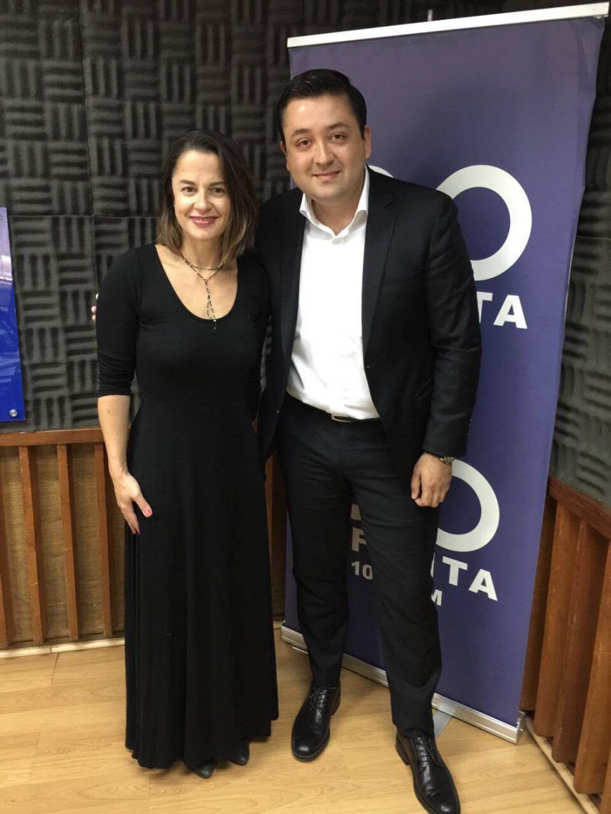Interview Non Stop Program with Gabriela Valenzuela on Radio Infinita