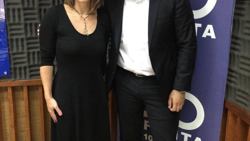 Entrevista Programa Non Stop con Gabriela Valenzuela en Radio Infinita