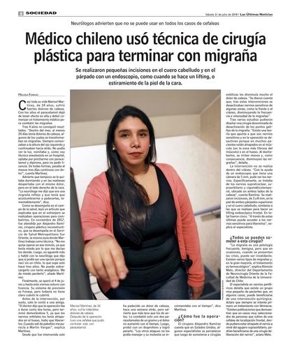 Cirugía de la Migraña
